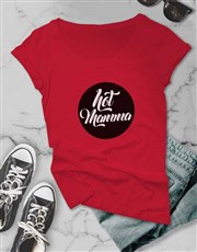 Hot Mama Logo Ladies Tshirt