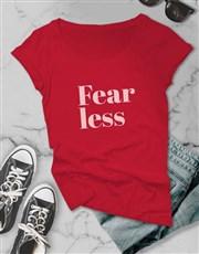 Fearless Retro Ladies T-Shirt
