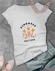 Kindness Matters Ladies T-Shirt