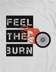 Feel The Burn Cycling T-Shirt