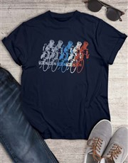 Vintage Cycling Graphic T Shirt