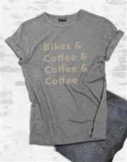 Bike And Coffee T-Shirt