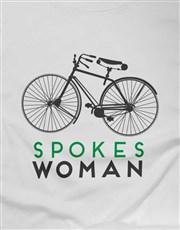 Spokes Woman Ladies T Shirt