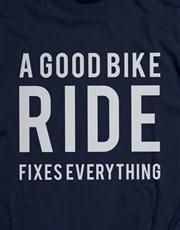 A Good Bike Ride T-Shirt