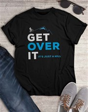 Get Over It Cycling T Shirt