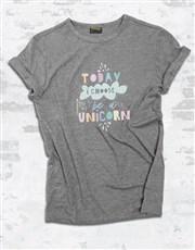 Be A Unicorn Ladies T Shirt