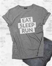 Eat Sleep Run T shirt
