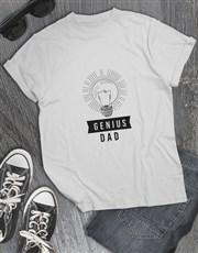 Genius Dad T Shirt