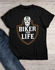 Biker for Life T Shirt