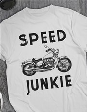Speed Junkie Motorcycle T Shirt