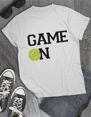 Tennis Game On T Shirt