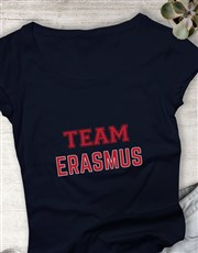 Personalised Team Ladies T Shirt