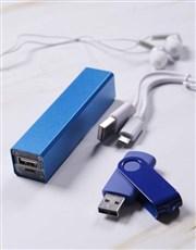 The Ultimate Blue Tech Set