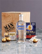 Absolut Man Crate