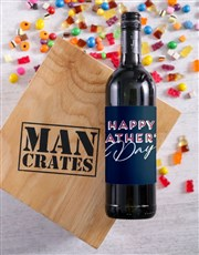 Fathers Day Man Crate