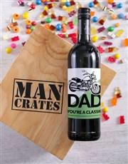 Classic Dad Man Crate