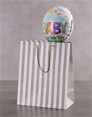 Lion And Balloon Gift Set