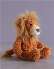 Baby Lion Striped Gift Set