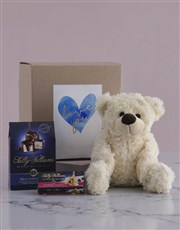 Love you Teddy and Nougat Gift Hamper