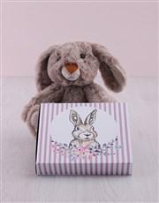 Bunny with Choc Tray Hamper