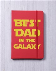 Best Dad In The Galaxy A5 Notebook