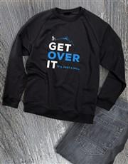 Get Over It Cycling Sweatshirt