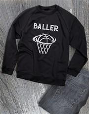 Basket Baller Sweatshirt