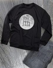 Graphic Gears Sweatshirt