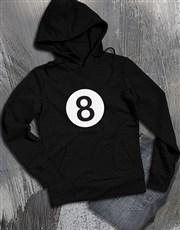 Ask Me Anything 8 Ball Hoodie