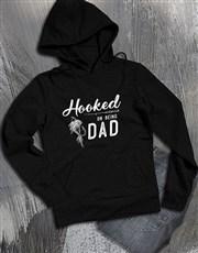 Hooked On Being Dad Hoodie