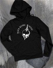 Death Before Decaf Coffee Addict Hoodie