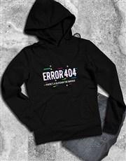 Error 404 Hoodie