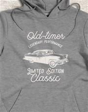 Retro Old Timer Hoodie