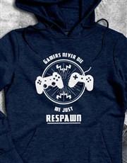 Gamers Respawn Hoodie