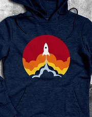 Spacecraft Lift Off Hoodie