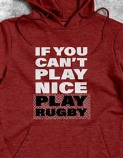 Play Rugby Hoodie