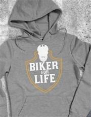 Biker For Life Hoodie