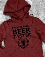 Professional Beer Taster Hoodie