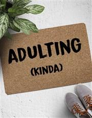 Adulting ( Kinda ) Doormat