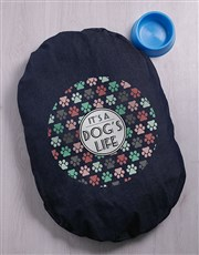 Dogs Life Denim Bed