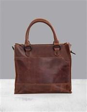 Zemp Bastille Chestnut Handbag