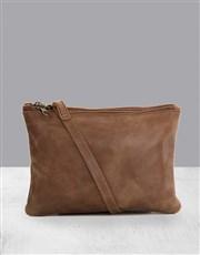 Zemp Paddington Waxy Tan Sling Bag