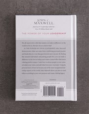 The Power Of Your Leadership By J Maxwell