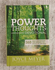 Power Thoughts By Joyce Meyer