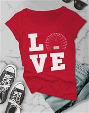 Love Speed Ladies T Shirt