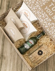 For The Record Gourmet Food And Beer Glass Gift