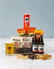 Off Duty Gourmet Food Beer Glass Gift