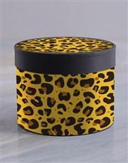 Cheetah Chocolate Box