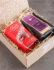 Coffee and Lindt Hamper