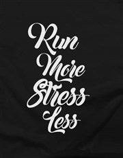 Run More Ladies T Shirt